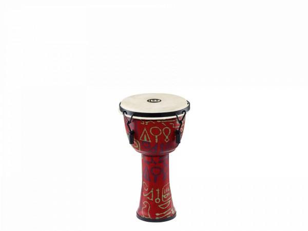 MEINL Percussion Travel Series Djembe - Pharao's Script, Small - Goat Head (PMDJ1-S-G)