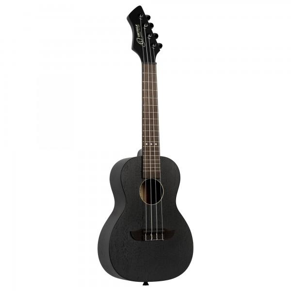 ORTEGA Horizon Series Standard Ukulele 4 String - Satin Black (RUHZ-SBK)