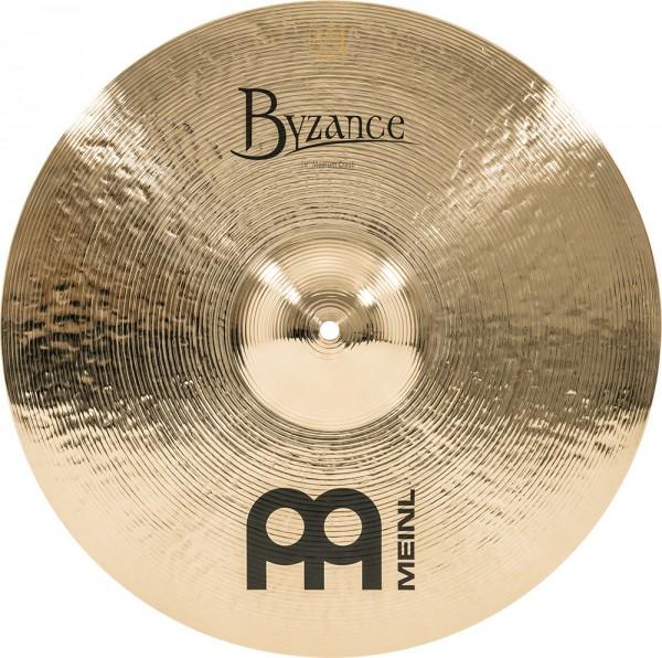 "MEINL Cymbals Byzance Brilliant Medium Crash - 18"" (B18MC-B)"
