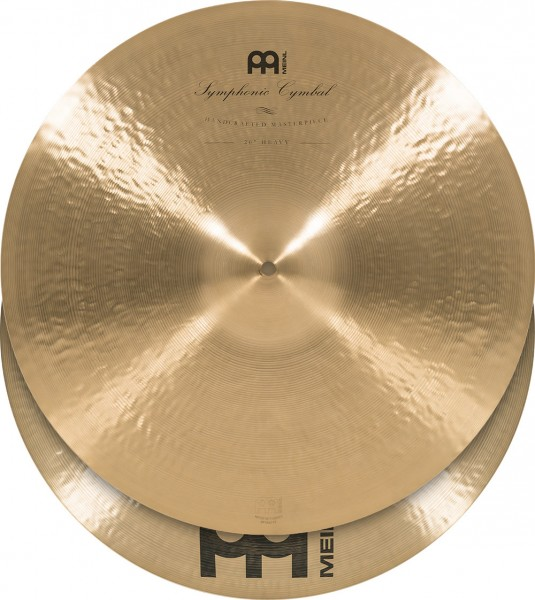"""MEINL Cymbals Symphonic Heavy - 20"""" Traditional Finish (SY-20H)"""