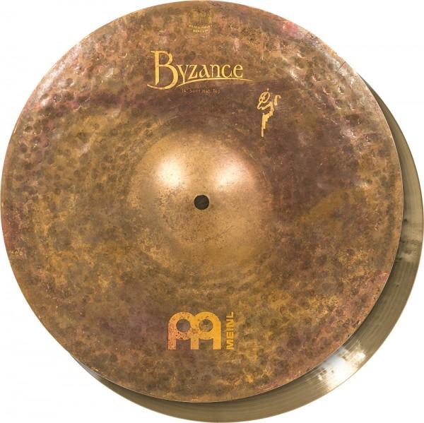 "MEINL Cymbals Byzance Vintage Sand Hat - 14"" (B14SAH)"