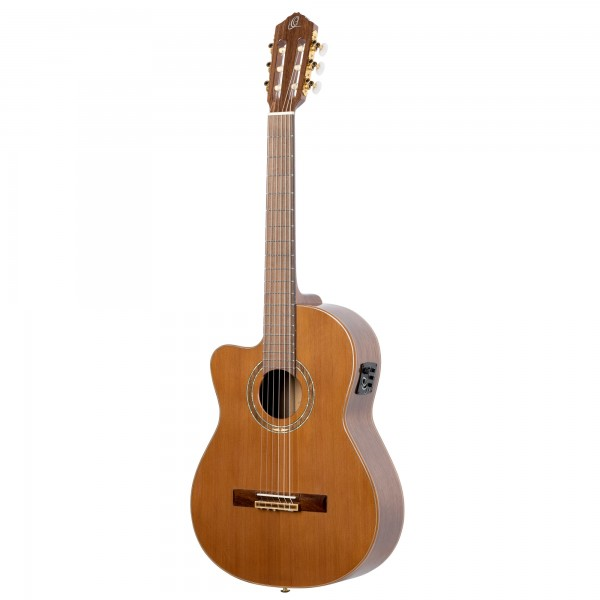 ORTEGA Classic Guitar Performer Series Natural Lefthand - inclusive Gigbag (RCE159MN-L)