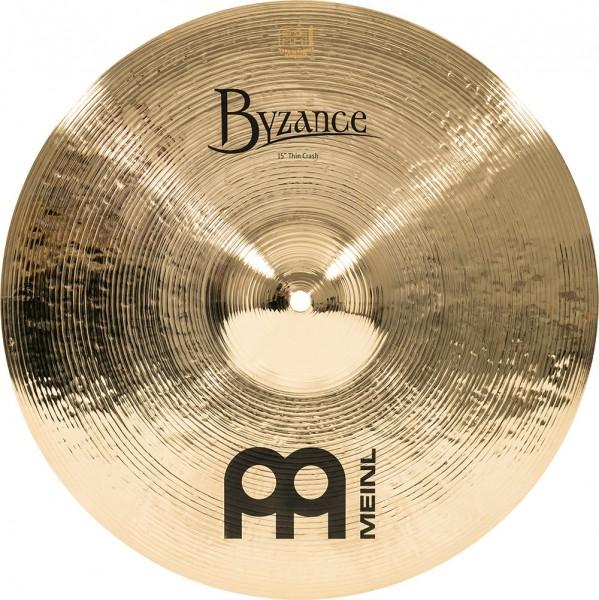 """MEINL Cymbals Byzance Brilliant Thin Crash - 15"""" (B15TC-B)"""