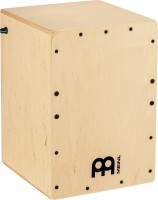 MEINL Percussion Pickup Jam Cajon with Snares, Natural (PJC50B)