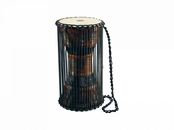 """MEINL Percussion Talking Drum - 8"""" x 16"""", 28 rope runners (ATD-L)"""