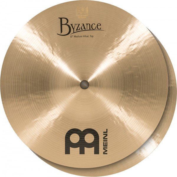 """MEINL Cymbals Byzance Traditional Mini Hat - 10"""" (B10MH)"""