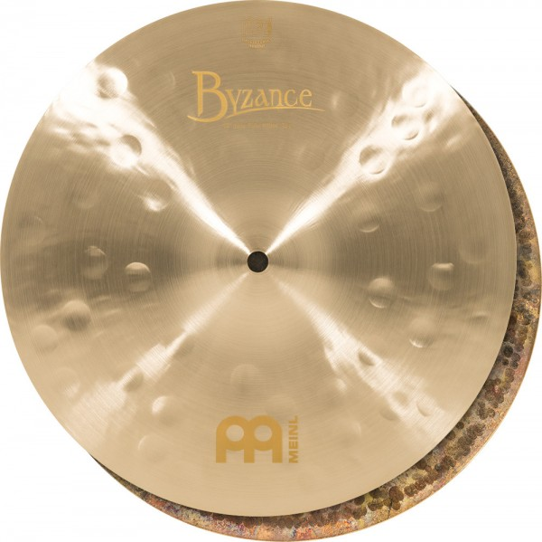 "MEINL Cymbals Byzance Jazz Thin Hihat - 13"" (B13JTH)"