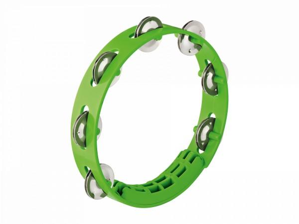 "NINO Percussion Compact ABS Tambourine 8"" - Grass-Green (NINO49GG)"