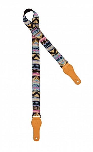 "ORTEGA ukulele strap - length 1390mm / 54,33"" (Max) / width 37mm - andean sky (OCS-400U)"