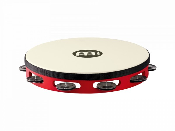 "MEINL Percussion Touring Tambourine - 10"", 1 row (TAH1BK-R-TF)"