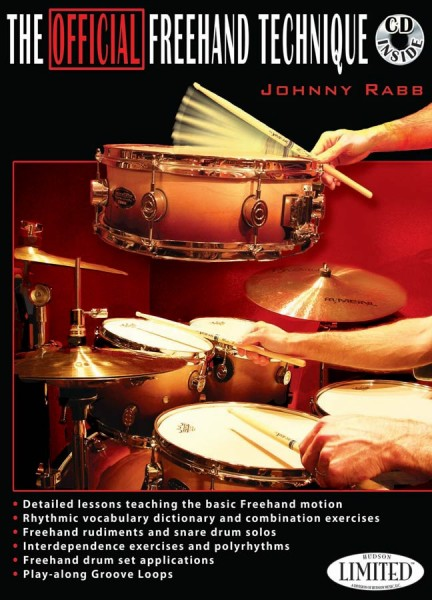 """Johnny Rabb """"The Official Freehand Technique"""" textbook incl. CD - English (JRABBBUCH2)"""