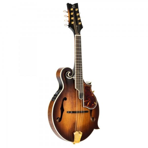 ORTEGA Mandoline F-Style Series inclusive Gigbag and Preamp - AVO - Antique Violin Oil (RMFE100AVO)