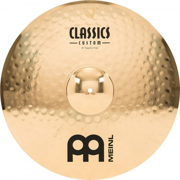 "MEINL Cymbals Classics Custom Powerful Ride - 20"" Brilliant Finish (CC20PR-B)"
