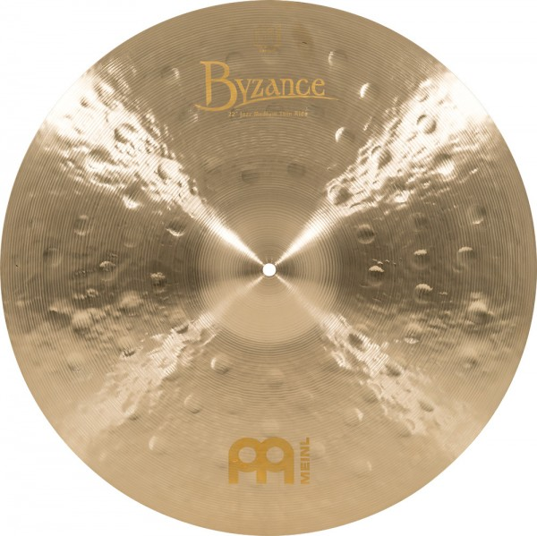 "MEINL Cymbals Byzance Jazz Medium Thin Ride - 20"" (B20JMTR)"