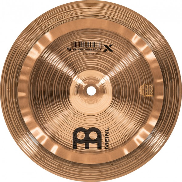 "MEINL Cymbals Generation X Electro Stack - 8""/10"" (GX-08/10ES)"