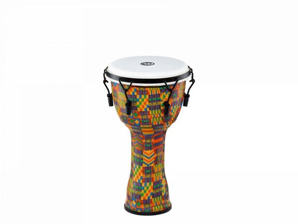 MEINL Percussion Travel Series Djembe - Kenyan Quilt, Medium - Synthetic Head (PMDJ2-M-F)