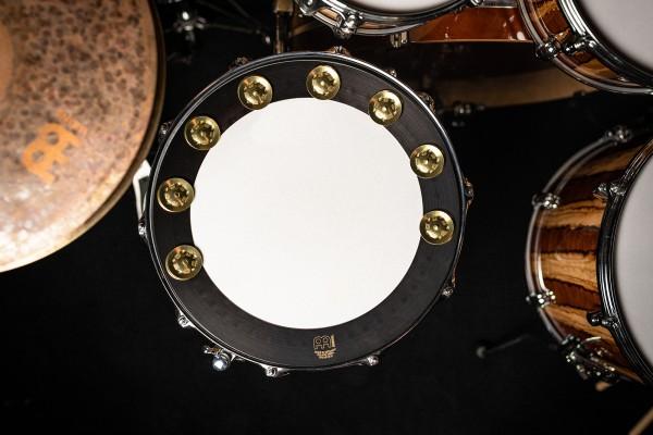 """MEINL Percussion Backbeat Pro Tambourine - 14"""" (35,56 cm) (BBP14)"""