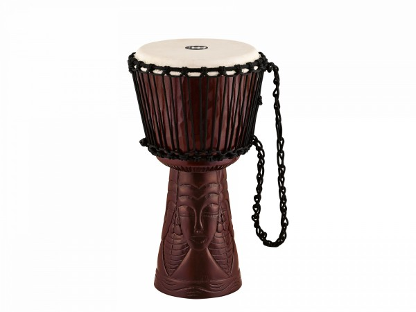 """MEINL Percussion Professional African Style Djembe - 10"""" African Queen Carving (PROADJ4-M)"""