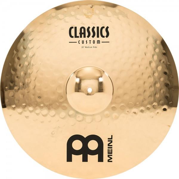 "MEINL Cymbals Classics Custom Medium Ride - 20"" Brilliant Finish (CC20MR-B)"