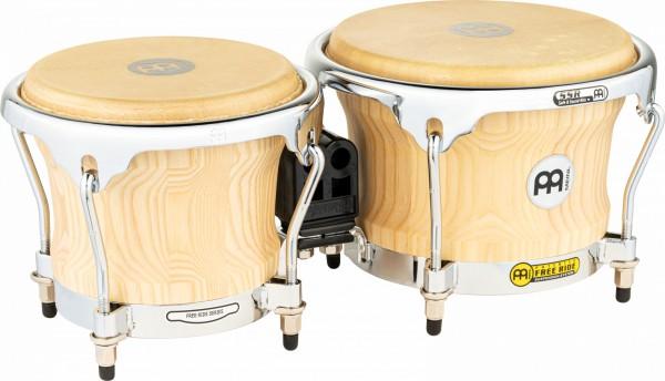 "MEINL Percussion Free Ride Collection Bongo - American White Ash 7"" MACHO & 8 1/2"" HEMBRA (CS400AWA-M)"