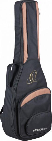 ORTEGA Gigbag Concertguitar 4/4 Size - Black / Brown (ONB44)