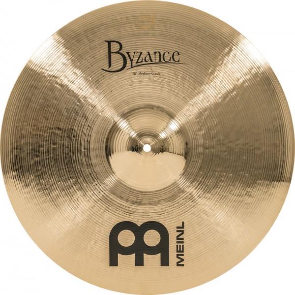 "MEINL Cymbals Byzance Brilliant Medium Crash - 20"" (B20MC-B)"
