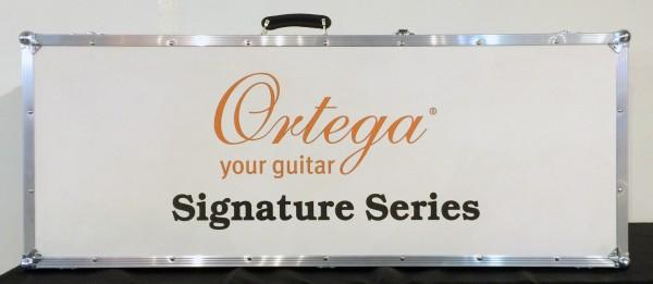 ORTEGA Classical Guitar Custom Master Selection Series 4/4 inclusive hardcase 8-String Made in Spain - NT - Natural Cedar Javier Reyes Signature (JRSM-RWC)