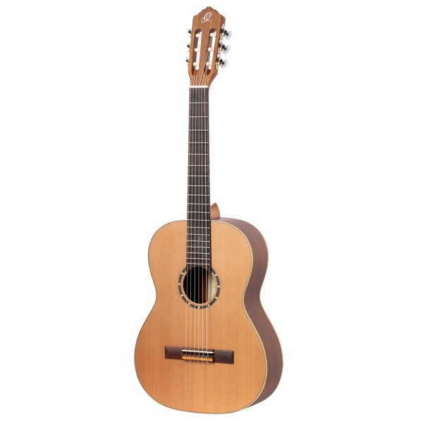 ORTEGA Family Series Classical Guitar 7/8 Lefty - Natural Cedar + Bag (R122-7/8-L)