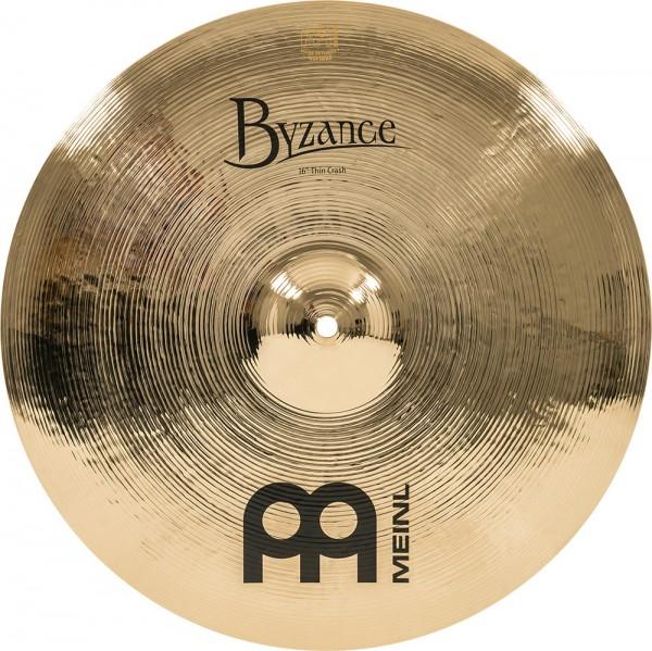 """MEINL Cymbals Byzance Brilliant Thin Crash - 16"""" (B16TC-B)"""
