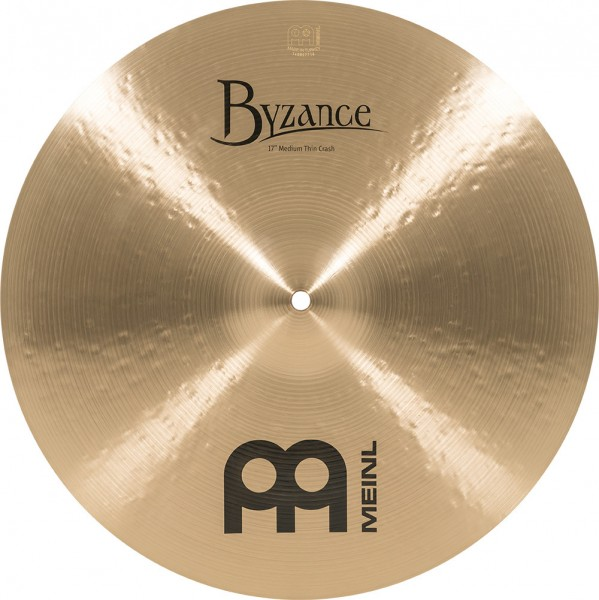 """MEINL Cymbals Byzance Traditional Medium Thin Crash - 17"""" (B17MTC)"""