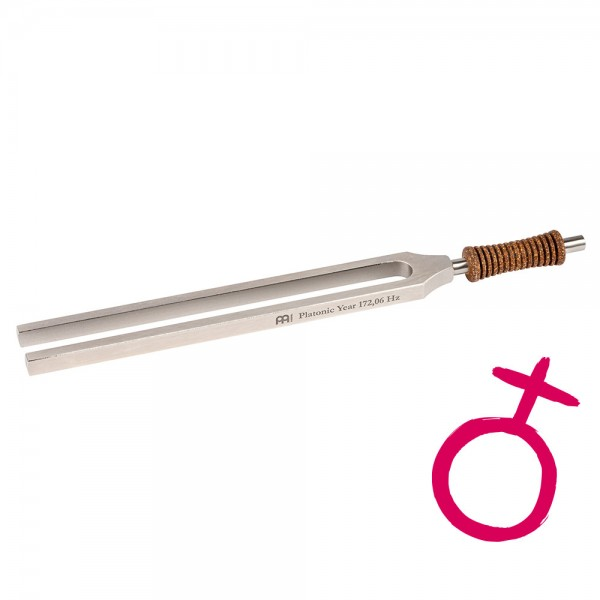 MEINL Sonic Energy Therapy Tuning Fork - Platonic Year - 172.06 Hz (TTF-E-PL)