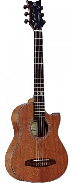 ORTEGA Classical Guitar Traveler Series inclusive Gigbag and Strap Short Scale - MM - Mahogany (NL-WALKER-MM)