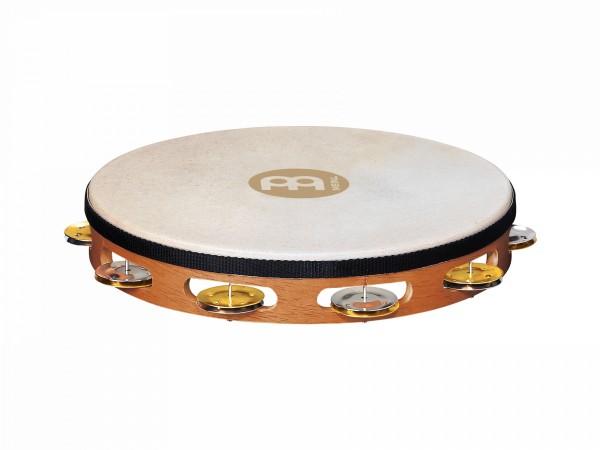 "MEINL Percussion Recording Combo Tambourine - 10"", 1 row (TAH1M-SNT)"