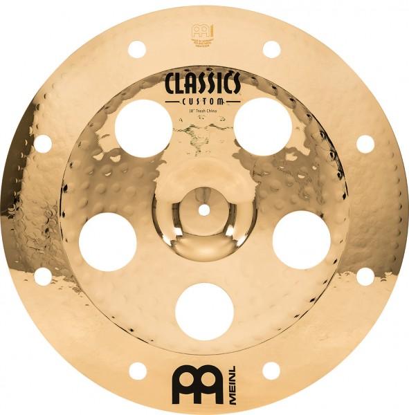 """MEINL Cymbals Classics Custom Trash China - 18"""" Brilliant Finish (CC18TRCH-B)"""