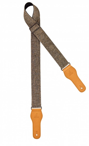 "ORTEGA cotton guitar strap - length 1580mm / 62"" (Max) / width 50mm - khaki (OCS-240)"