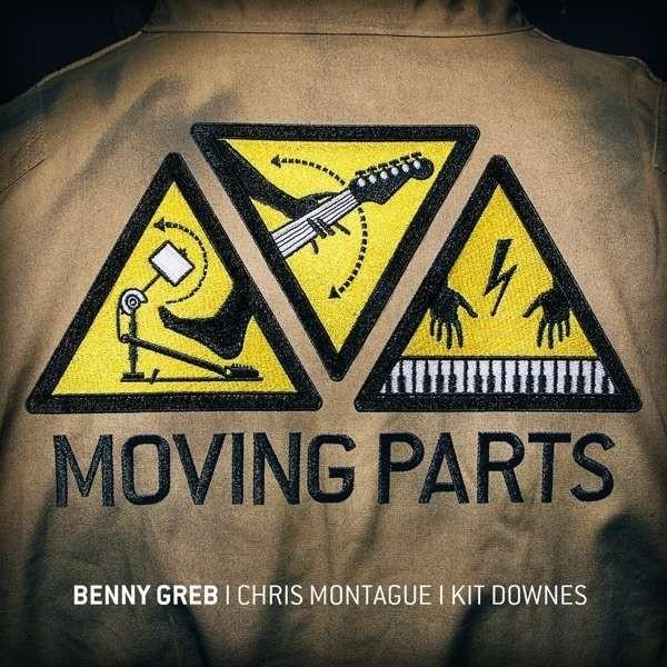 "CD Benny Greb ""Moving Parts"" (CD59)"