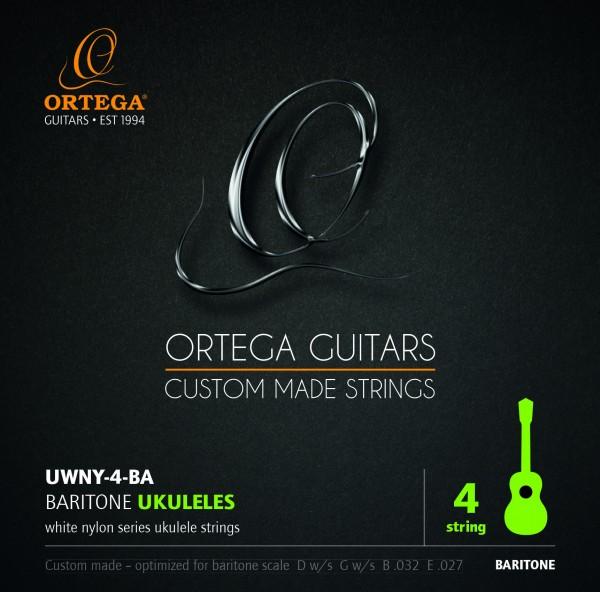 ORTEGA Strings - for Bariton-Ukulele (UWNY-4-BA)