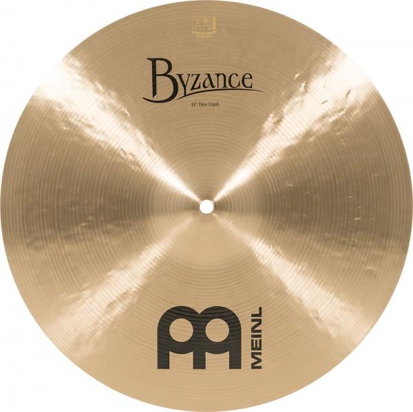"MEINL Cymbals Byzance Traditional Thin Crash - 15"" (B15TC)"