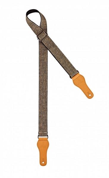 "ORTEGA cotton ukulele strap - length 1390mm / 54,33"" (Max) / width 37mm - khaki (OCS-240U)"