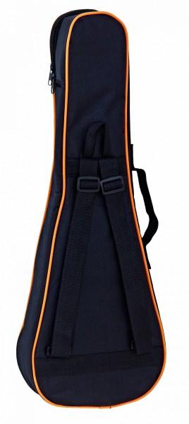 ORTEGA Ukulele Bag Pineapple - Black/Orange (OUBSTD-PINE)