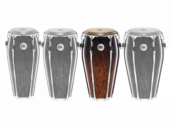 "MEINL Percussion Floatune Series Conga - 12"" Brown Burl (FL12BB)"