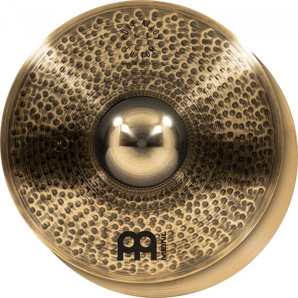 """MEINL Cymbals Pure Alloy Custom Hihat - 15"""" (PAC15MTH)"""