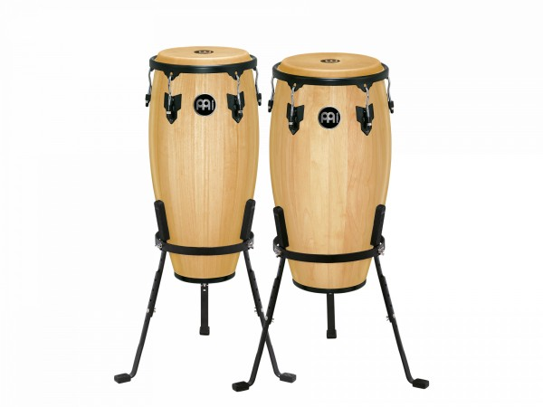 """MEINL Percussion Headliner Series Conga Set 11"""" and 12"""" - Natural (HC512NT)"""