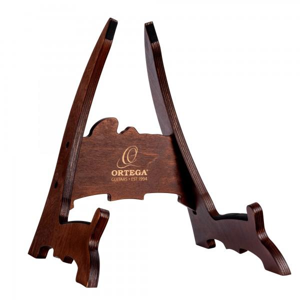 ORTEGA Guitar Stand Layered Birch Wood - Dark Brown (OWGS-1)