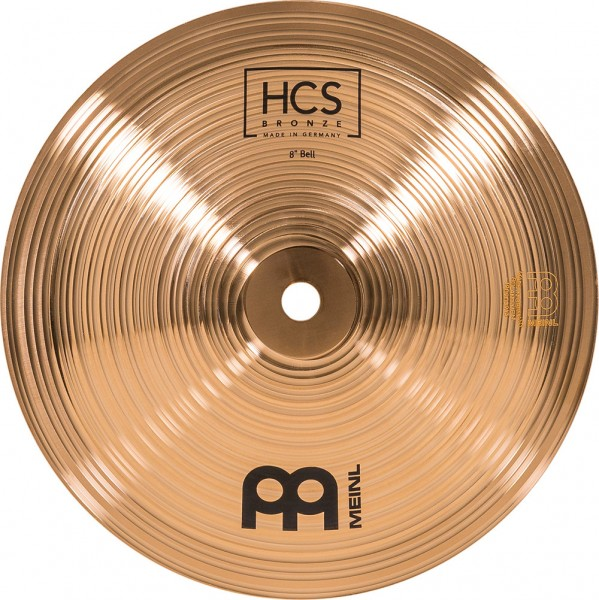 "MEINL Cymbals HCS Bronze Bell - 8"" (HCSB8B)"