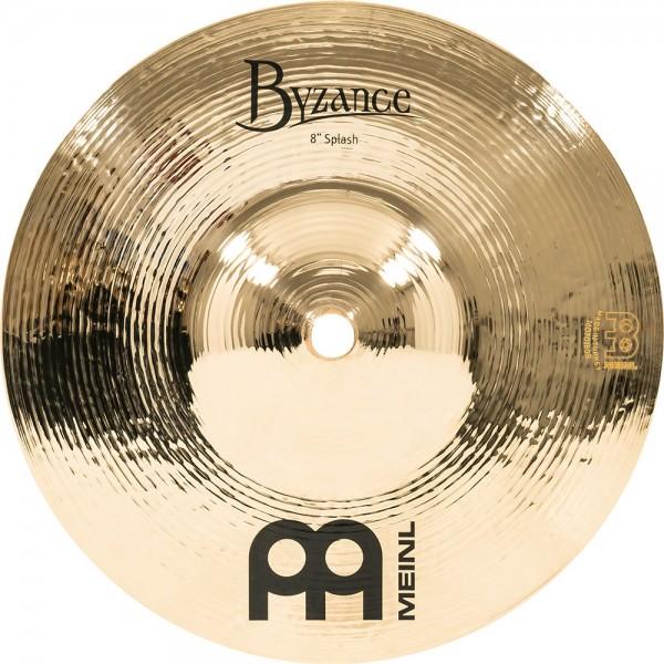 "MEINL Cymbals Byzance Brilliant Splash - 8"" (B8S-B)"