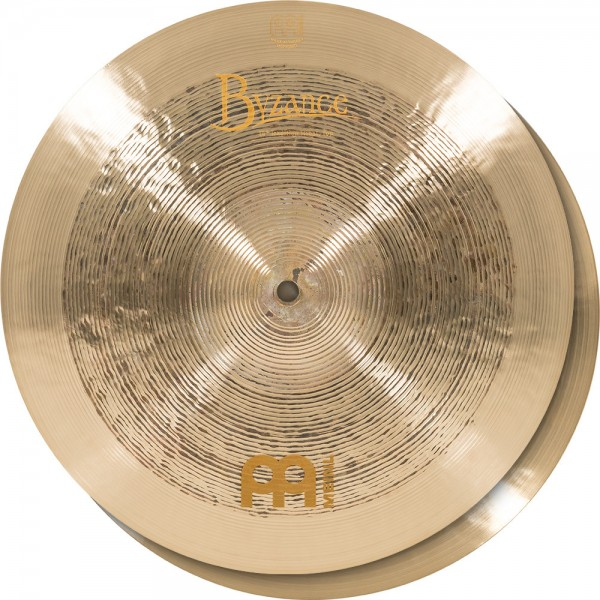 "MEINL Cymbals Byzance Jazz Tradition Hihat - 14"" (B14TRH)"