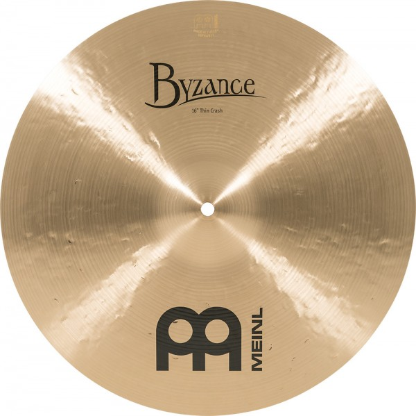 "MEINL Cymbals Byzance Traditional Thin Crash - 16"" (B16TC)"