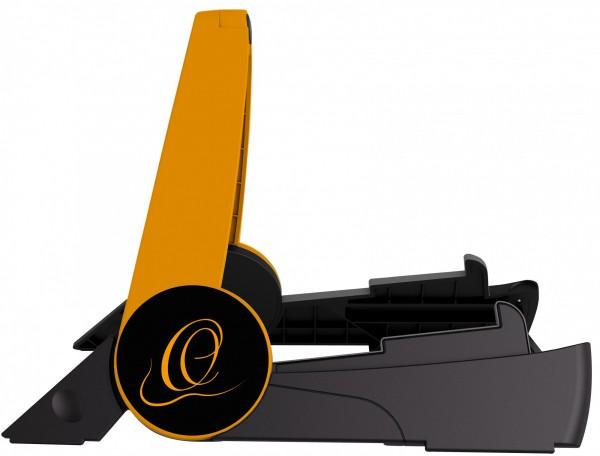 ORTEGA foldable Guitar Stand Synthetic - Orange / Black (OPGS-1ORBK)