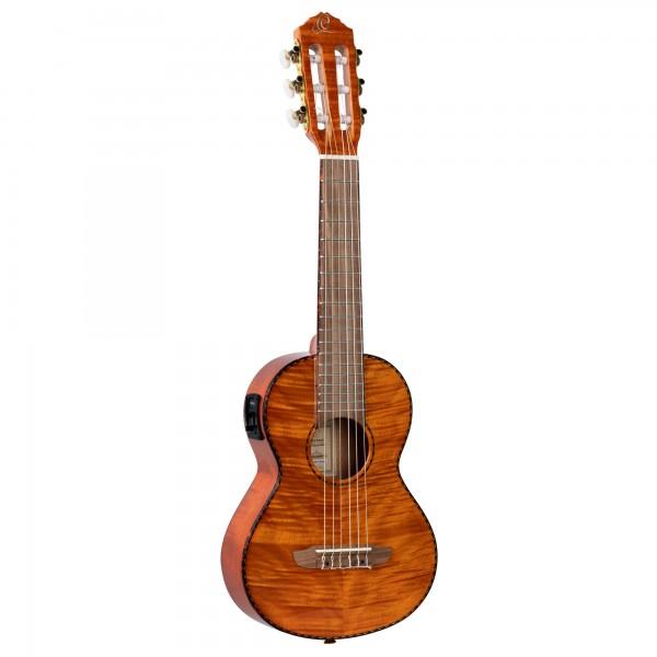 ORTEGA Timber Series Guitarlele - Flamed Mahogany + Bag (RGLE18FMH)